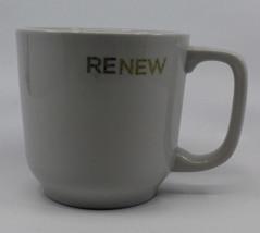 Starbucks 2009 Renew White Large Coffee Tea Mug Cup Toki Made in Japan (B) - $23.89