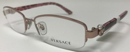 NEW VERSACE Designer Eyeglasses Frame  Womens Mod.1187B 1286 53-17-135 R... - $64.13