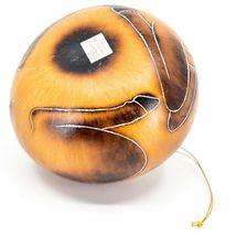 Handcrafted Carved Gourd Art Deer Buck Animal Ornament Made in Peru image 5