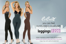 CoCoon Colombian Body Shaper Slimming Legging Reduce Cellulite 12/20 Mic... - $35.99