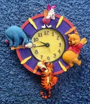 Extremely Rare! Walt Disney Winnie the Pooh with Friends Wall Clock - $247.50