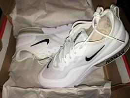 Nike Women's Air Max Sequent 4.5 Running Shoes White Black BQ8824-100 SI... - $93.49