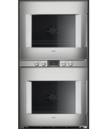 Gaggenau BX481611 400 Series 30 Inch Double Electric Wall Oven Stainless... - $7,420.99