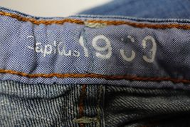Gap Kids Straight Leg Jeans 1969 Boys Size 10 Plus Medium Wash Cotton Stretch image 4