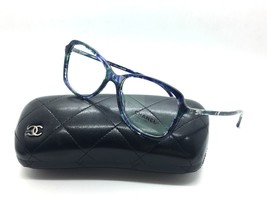 CHANEL 3336 1490 Multi Shade Blue RX Eyeglasses 52MM Original Authneitc w   case -  116.97 955cb0631b0