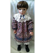 "Vintage Collectible Rare Genuine Porcelain 18"" Doll Gaby Raclem Ann RA7751 - $29.99"