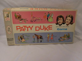 Patty Duke Game With Patty And Cathy Milton Bradley 1963 Vintage - $28.74