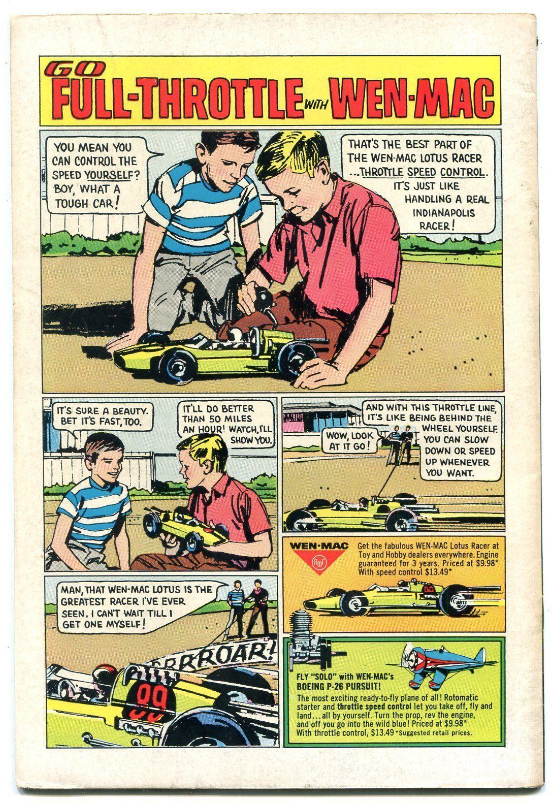 TOMAHAWK #100 1965- DC Sci-fi Western- Silver Age Glossy VF