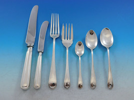 Saxon by Birks Canada Sterling Silver Flatware Set for 8 Service 63 pieces - $3,750.00