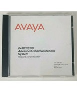 AVAYA PARTNER Advanced Communications System Release 5.0 Issue 3 March 2002 - $9.49