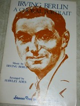 Vintage Music Song Book IRVING BERLIN - A CHORAL PORTRAIT S.A.T.B. & Pia... - $9.46