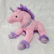 """18"""" Dan Dee Unicorn Large Pink Purple Soft Plush Stuffed Animal Toy B219 - $29.99"""