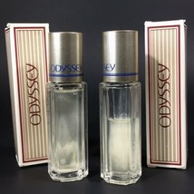 Vintage Avon 1991 LOT of 2 - ODYSSEY Satin Cologne Rollettes (1 Half Ful... - $11.26