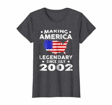 Brother Shirts - 16th Birthday Gifts Making America Legendary Since July... - $19.95+