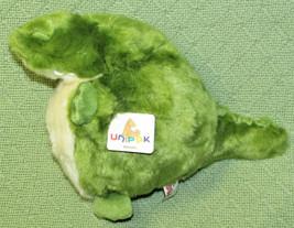 "NEW UNIPAK BABY PLUMPEE ALLIGATOR STUFFED ANIMAL 7"" GREEN PLUSH TOY WITH... - $17.82"