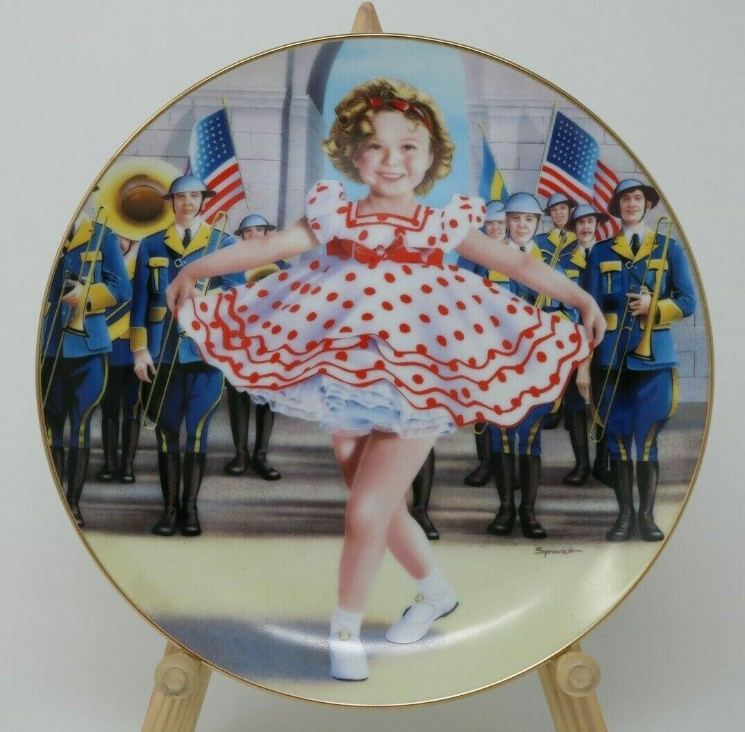 Primary image for The Danbury Mint Shirley Temple Collector Plate & Mug Stand up and Cheer Vintage