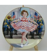 The Danbury Mint Shirley Temple Collector Plate & Mug Stand up and Cheer... - $27.23