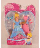 Disney Princess Cinderella Favorite Moments Polly Pocket Size Doll New - $24.75