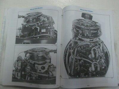 1996 Johnson Evinrude Außenborder 9.9 Thru 30 2 Zylinder Service Manuell 507122