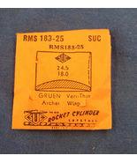Vintage Gruen Archer/Wisp Plastic Crystal  Wristwatch Part RMS 183-25 CM... - $11.99