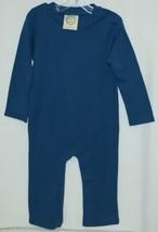 Blanks Boutique Boys Long Sleeved Romper Color Blue Size 2T image 1