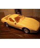 DEALERSHIP PROMO CAR: 1992 CHEVY ZR1 YELLOW CORVETTE MINT IN BOX - $9.89