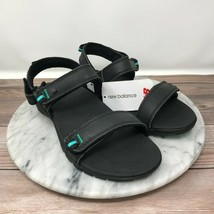 NEW New Balance Traverse Black Leather Sport Sandals Womens Size 6 WR2102 - $49.95