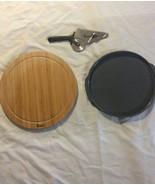 Nu Wave 20343 Pizza Accessories Silicone Tray Pizza Cutter Board - $14.84