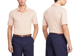Polo Ralph LaurenGolf Stripe Fit Performance Stretch Short-Sleeve Polo S... - $54.44