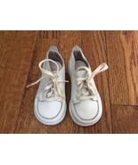 Stride Rite Baby Flexible Unisex White Boots Shoes Sz 4 D - $17.75