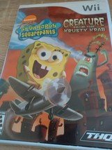 Nintendo Wii SpongeBob: Creature From The Krusty Krab - Complete image 1