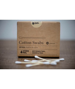 Hydrophil Eco Friendly Organic Bamboo Wooden Compostable Cotton Ear Buds - $8.66