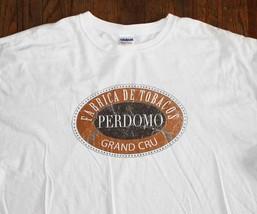 Perdomo Cigars / Semilla Habano 2004 / Tobacco Cigar / White T-SHIRT Size 2XL - $24.99