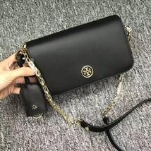 Tory Burch Black Robinson Chain Mini Shoulder Bag - $300.00