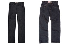 NWT $40 Boys Levis 550 Jeans Relaxed Fit Regular Size 14 or 18 - $19.99