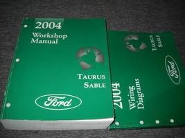 2004 Ford Taurus Mercury Sable Service Shop Workshop Repair Manual Set W... - $49.45