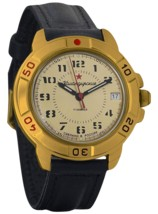 Vostok Komandirskie 439121 Commander 2414 Movement Russian Army Mechanic... - £28.97 GBP