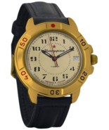 Vostok Komandirskie 439121 Commander 2414 Movement Russian Army Mechanic... - €32,30 EUR