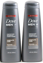 2 Dove Men Care Fortifying Shampoo & Conditioner Complete Care w Caffein... - $18.99