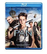 Pan (Blu-ray/DVD, 2015, 2-Disc Set)