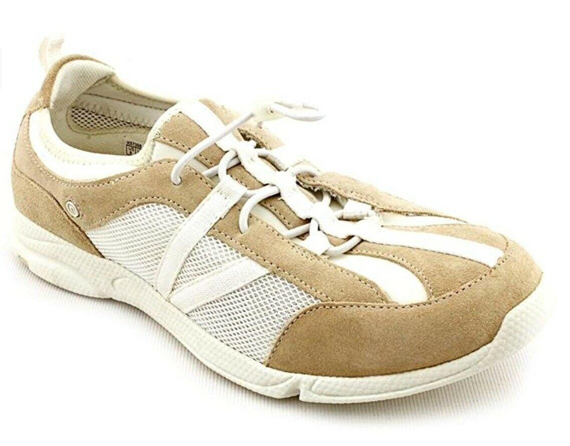 Rockport XCS Jasha Buff Womens Beige Suede Sneakers Shoes, Size 7.5, $110 - $39.75