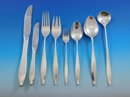 Vespera by Towle Sterling Silver Flatware Set for 12 Service 112 Pieces Modern - $6,700.00