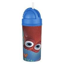 Zak! Designs Sip N Slide Tumbler, Finding Dory Screw-on Lid Straw BPA-free 12 oz - $6.92