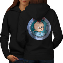 Its A Girl Sweatshirt Hoody Mom Pregnancy Women Hoodie Back - $21.99+