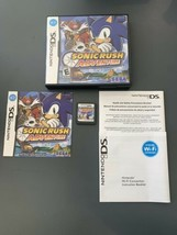 Nintendo DS - Sonic Rush Adventure ( 2007) Complete w/ manual And Case - $19.99