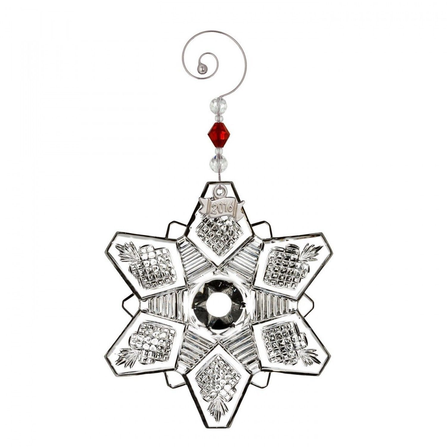 Waterford Snowcrystal Pierced Ornament
