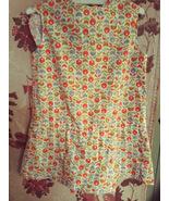 Vintage Girl's print Culotte Homemade 1960's - $8.00