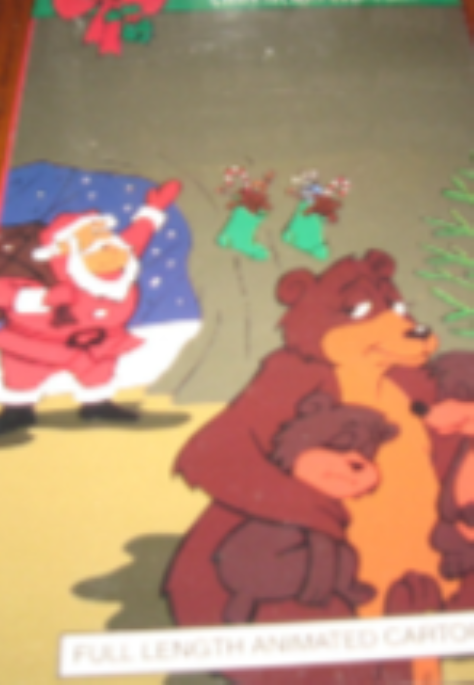 Christmas Classic ~ Santa and the Three Bears Vhs