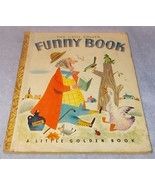 Vintage Little Golden Book Funny Book No 74 1959 B Printing - $19.95