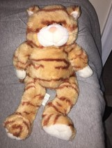 "Build a Bear Workshop 18"" stripped Yellow Cat Tabby Cat Plush Stuffed Ki... - $11.87"